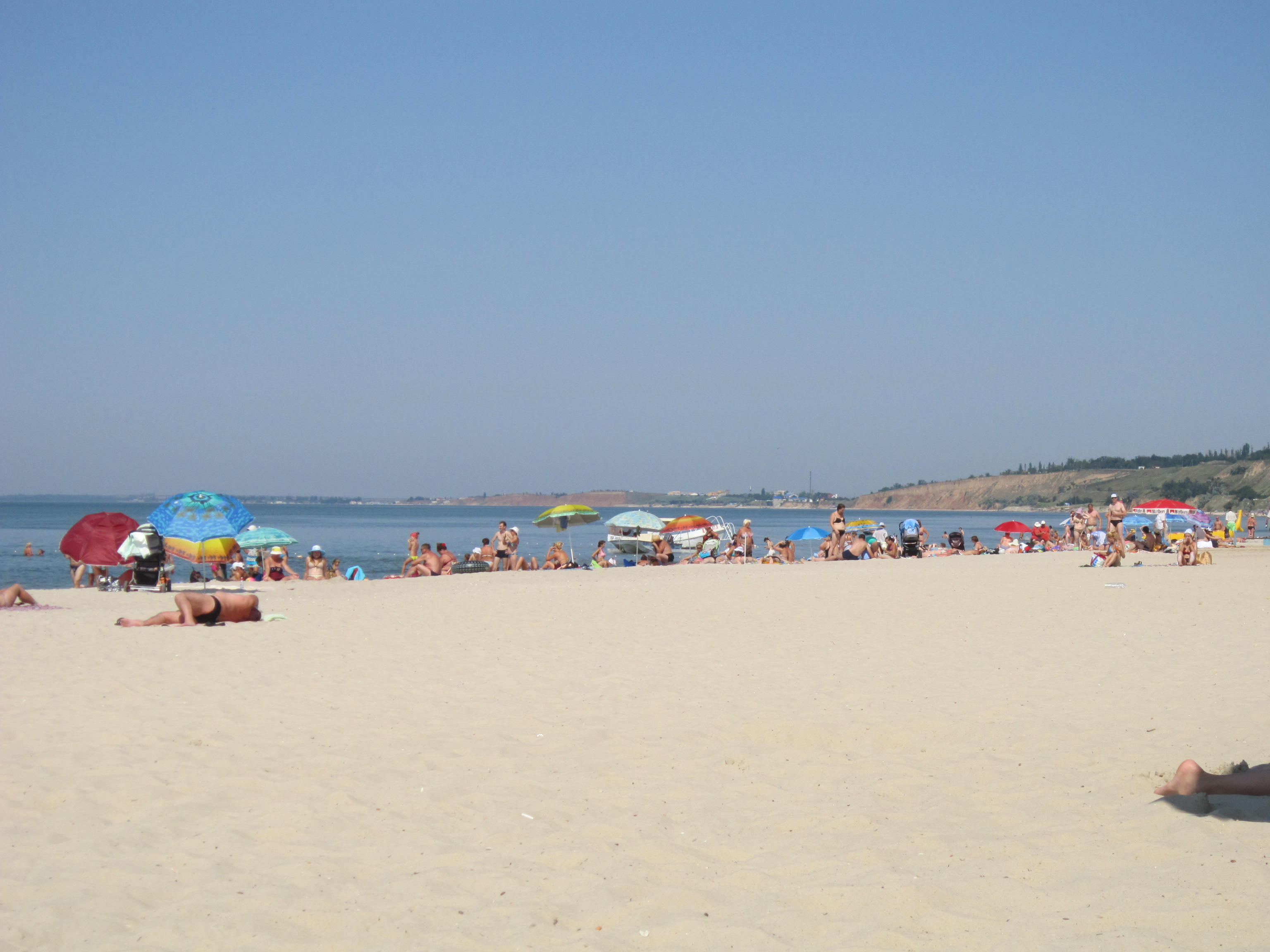 Пляж в очакове фото